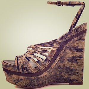 BCBGMaxAzria Shoes - BCBG MaxAzria Laurol Mushroom Wedges